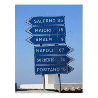 Costa de Amalfi Tarjeta Postal