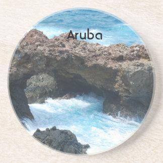 Costa de Aruba Posavasos Para Bebidas
