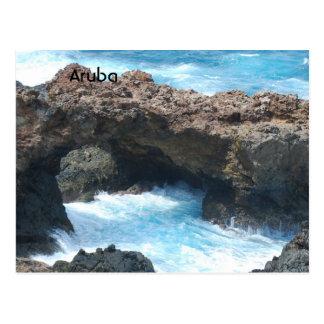 Costa de Aruba Tarjetas Postales