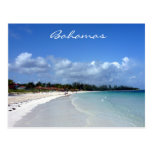 costa de Bahamas Tarjeta Postal