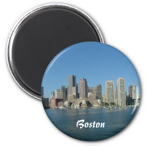 Costa de Boston Imán Redondo 5 Cm