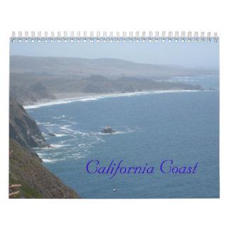 Costa de California Calendario