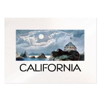 Costa de California de la CAMISETA Tarjetas De Visita Grandes
