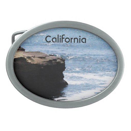 Costa de California Hebilla Cinturón Oval
