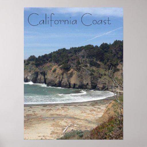 Costa de California Poster
