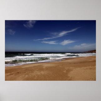 Costa de California Póster