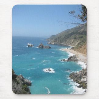 Costa de California Alfombrilla De Ratón