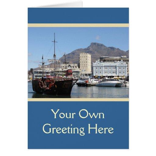 Costa de Cape Town V&A, Suráfrica Felicitaciones
