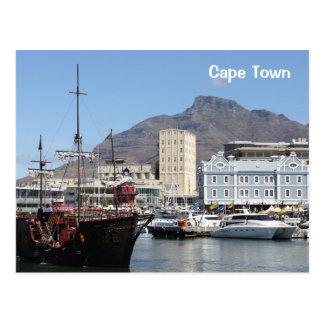 Costa de Cape Town V&A, Suráfrica Tarjetas Postales