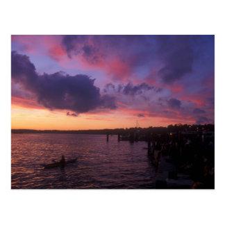 Costa de Champlain del lago Postal