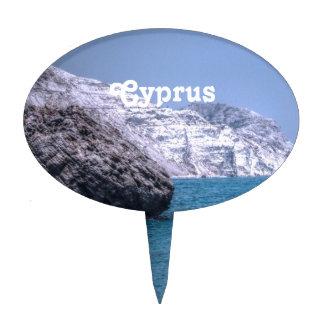 Costa de Chipre Decoración Para Tarta