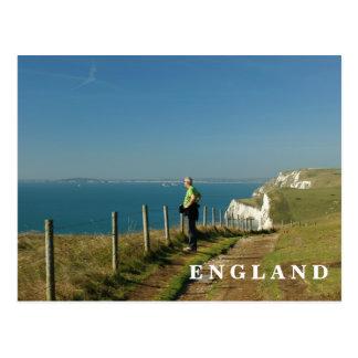 Costa de Dorset Tarjeta Postal