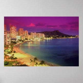 Costa de Hawaii Impresiones