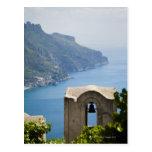 Costa de Italia, Amalfi, Ravello, campanario con Tarjetas Postales