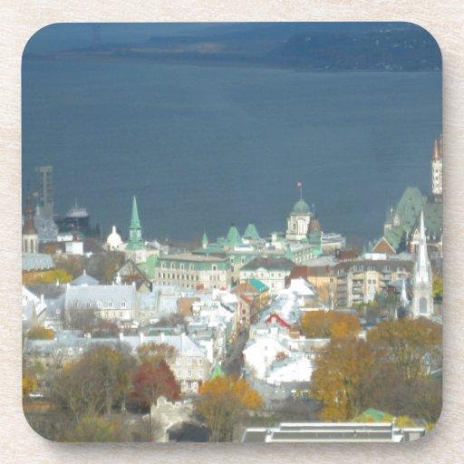 Costa de la ciudad de Quebec Canadá Posavaso