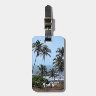 Costa de la India Etiquetas De Maletas