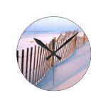 Costa de la isla de Santa Rosa de la playa Reloj De Pared