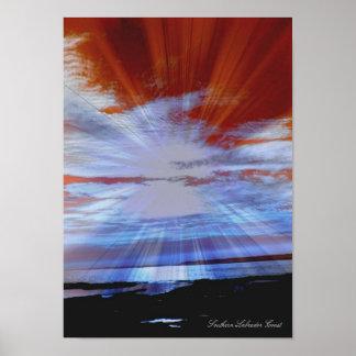 Costa de Labrador, impresión de la foto del arte d Póster