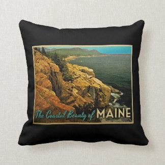 Costa de Maine del vintage Almohada