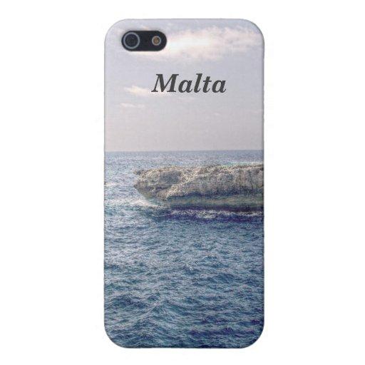 Costa de Malta iPhone 5 Cárcasas
