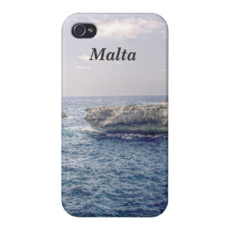 Costa de Malta iPhone 4/4S Carcasas