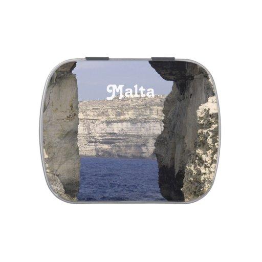 Costa de Malta Jarrones De Dulces