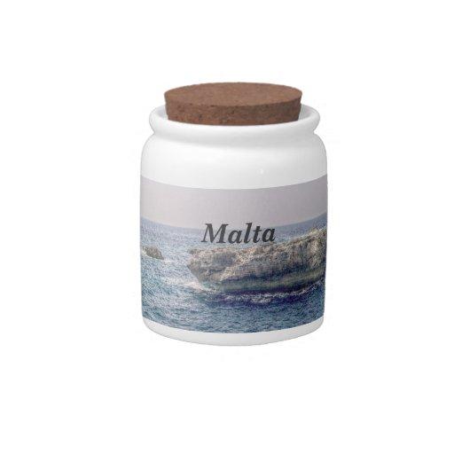 Costa de Malta Plato Para Caramelo