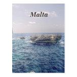 Costa de Malta Postales