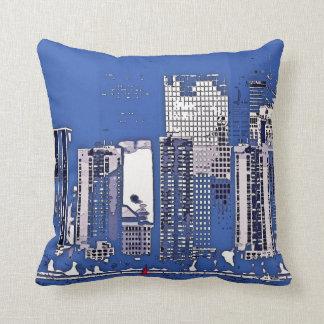 Costa de Manhattan, almohada contemporánea