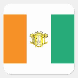 Costa de Marfil - d Ivoire de Côte Etiqueta