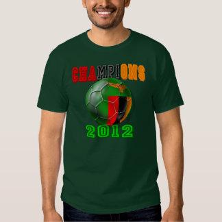Costa de Marfil del golpe de Zambia - 2012 Polera