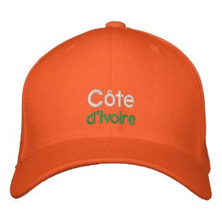 Costa de Marfil - gorra bordado d Ivoire de Côte Gorra Bordada