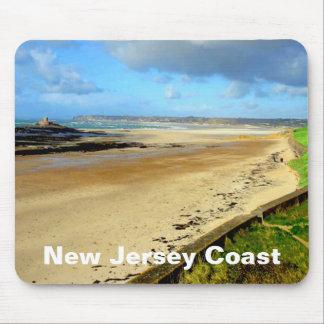 Costa de New Jersey, cojín de ratón de NJ Alfombrilla De Ratón