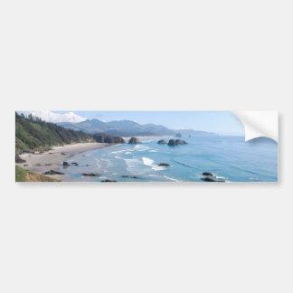 Costa de Oregon Etiqueta De Parachoque