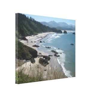 Costa de Oregon del arte de la lona Impresiones En Lienzo Estiradas