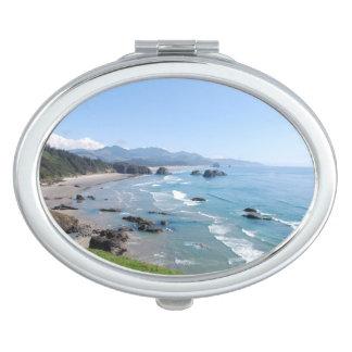 Costa de Oregon Espejo Compacto