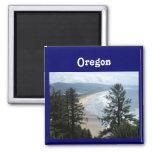 Costa de Oregon Iman De Frigorífico