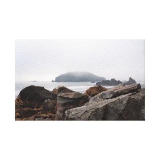 Costa de Oregon Impresiones En Lona Estiradas