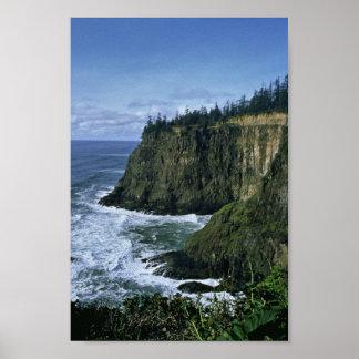 Costa de Oregon Posters