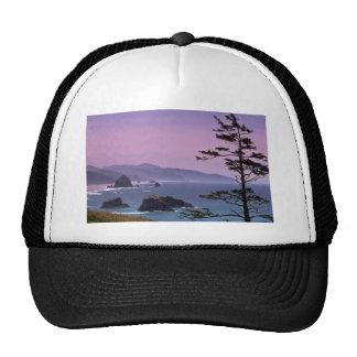 Costa de Oregon, parque de estado de Ecola, Oregon Gorros