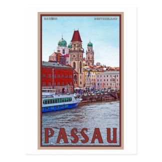 Costa de Passau - de Donau Postales