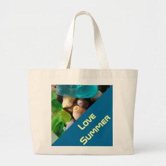 Costa de Seaglass del verde azul de las bolsas de