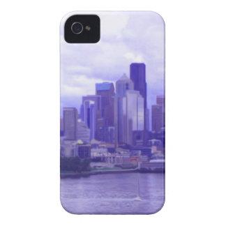 Costa de Seattle Case-Mate iPhone 4 Cárcasa