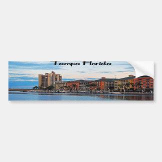 Costa de Tampa la Florida Pegatina Para Auto