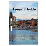 Costa de Tampa la Florida Tableros Blancos