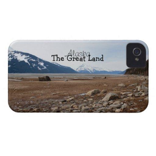 Costa del Alaskan de la CA iPhone 4 Case-Mate Fundas