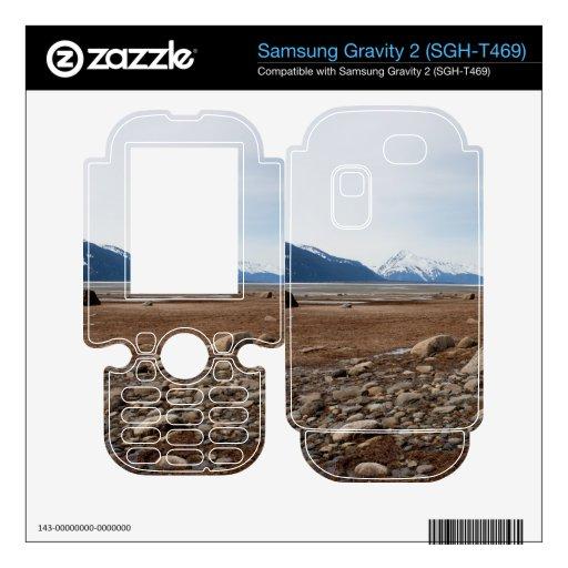 Costa del Alaskan de la CA Samsung Gravity 2 Calcomanía