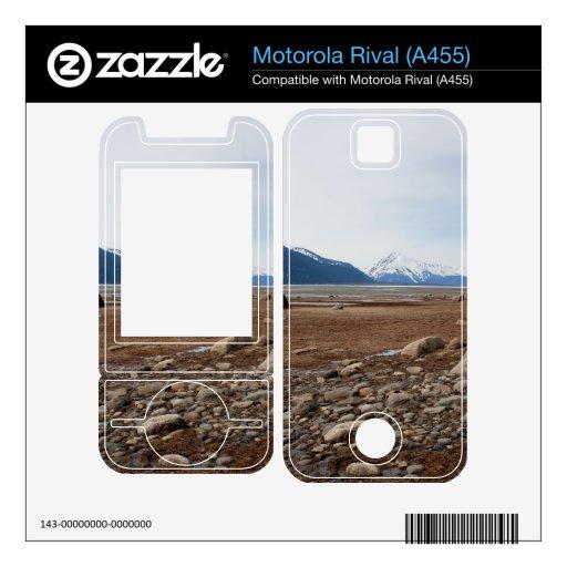 Costa del Alaskan de la CA Motorola Rival Calcomanías