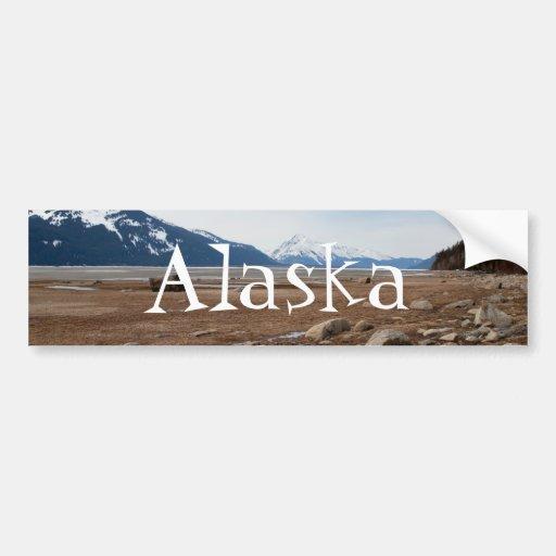 Costa del Alaskan de la CA Pegatina Para Auto