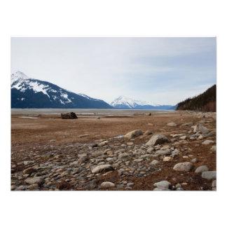 Costa del Alaskan de la CA Impresion Fotografica